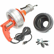 General Wire Power-vee Drain Cleaning Machine Includes 2 Cables, Cutter Set And