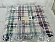 Longaberger Woven Traditions Plaid Fabric 5-yards Yards Made In Usa