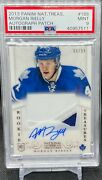 2013-14 Panini National Treasures Rookie Patch Auto /99 Psa 9 Morgan Rielly