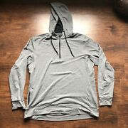 Warroad Hockey Butter Hoodie - Championship Grey Size Large