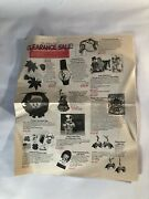 Vintage 1990s Lighter Side Newspaper Catalog Htf Clearance Sale Gift Collectible