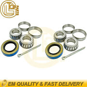 2x Front Wheel Hub Bearing And Seal Kit For Ezgo Gas Electric Golf Cart 1976-up