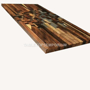 Wooden Epoxy Dining Center Table Top Living Room Handmade Furniture Home Dandeacutecor