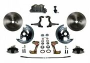 Leed Brakes Fc1006-305 Front Disc Brake Kit W/stock Height Spindles Gm Chevy Ii/