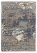 Jaipur Living Adriatic Abstract Gray/ Light Blue Area Rug 9and039x12and0396