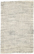 Jaipur Living Almand Natural Solid White/ Black Area Rug 12and039x15and039