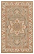 Jaipur Living Orleans Handmade Medallion Beige/ Blue Area Rug 9and0396x13and0396