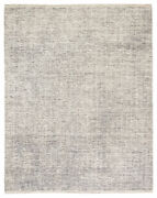 Jaipur Living Mugler Hand-knotted Geometric Ivory/ Black Area Rug 8and039x10and039