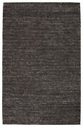Jaipur Living Grams Handmade Solid Dark Gray/ Ivory Area Rug 9and039x12and039