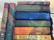 Harry Potter Hardcover Books Only You Chose The Book Complete Set 1-8 Ficiton