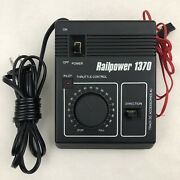 Railpower Model 1370 Power Supply And Throttle Control Ho/n Scale