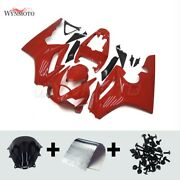 Injection Abs Red Fairing Kit For Triumph Daytona 675 2006-2008 Body Work+bolts