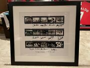 Sir Mattandrsquos Final Summit Signed By Manchester United 1968 Team Best Law Charlton