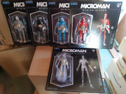3a Microman String Divers Lot Of 5 Figures Shipped From Japan