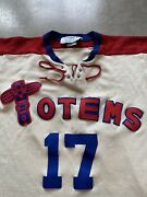 Seattle Totems Hockey Jersey Stall And Dean Puckmaster