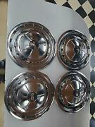 1957 Chevy Stainless Steel Hubcap - 14 57and039 Chevrolet Wheel Cover