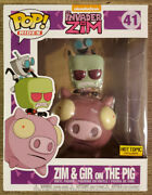 Funko Pop Rides Andndash Invader Zim Zim And Gir On The Pig - Ht Exclusive