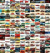 170 X Postcards Old Car High Lot Vintage Style Promo Card Repro Postcard