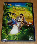 The Book Of The Jungle 2 Dvd Disney New Sealed Animation Sleeveless Open R2