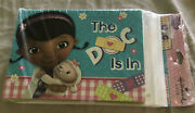 Doc Mcstuffins Disney Cartoon Doctor Birthday Party Invitations Andthank You Cards