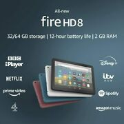 Kindle Fire Hd 8 Tablet 32gb With Alexa 10th Gen. 2020 Release New