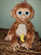 Hasbro Furreal Friends Cuddles The Giggly Monkey 2012 With Bottle