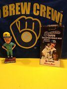 New In Box Robin Yount Milwaukee Brewers Bobblehead 2006