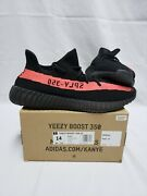 Yeezy Boost 350 V2 Red Stripe Ds Size 14 100 Authentic