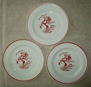 The Lone Ranger Milk Glass Set-3 Plates 5 Cups And Saucers-1938-rare