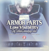 Yamato Macross Armor Parts Low Visibility City Urban Camouflage Color Figure