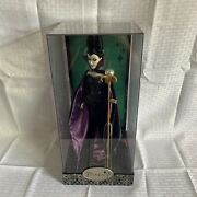 Disney Villains Designer Collection Maleficent Limited Edition Doll 00034/13,000