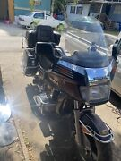 1985 Honda Goldwing 1200 Gl1200a Aspencade As Is For Part Only Turn On Before