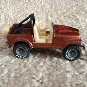 Hot Wheels Jeep Cj-7. Rare Grey Wheels And Good Year Tyres. Very Nice Condition