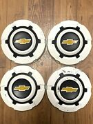 1969-1977 C10 Chevy Truck Dog Dish Hubcaps 10.5andnbspvintage