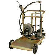 Liquidynamics 51009c-s2 Electric Oil Transfer Cart - 55 Gallon Drums W/25and039 Reel