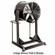 Americraft 30 Steel Propeller Fan With High Stand 1/2 Hp 8400 Cfm