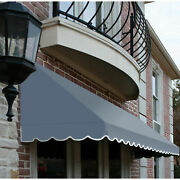 Awntech Window/entry Awning 10-3/8and039w X 4-11/16and039h X 4and039d Dusty Blue