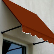 Awntech Window/entry Awning 8-3/8and039w X 3-11/16and039h X 3and039d Terra Cotta