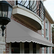 Awntech Window/entry Awning 10-3/8and039w X 4-11/16and039h X 4and039d Gray