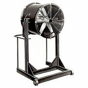 Americraft 24 Exp Aluminum Propeller Fan With High Stand 1 Hp 7400 Cfm Single