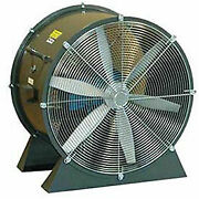 Americraft 30 Tefc Aluminum Propeller Fan With Low Stand 2 Hp 14000 Cfm