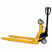 Wescoand174 Pallet Scale Truck 22-1/2 X 47-1/4 5000 Lb. Capacity