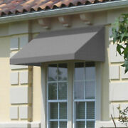 Awntech Window/entry Awning 10-3/8and039w X 2and039h X 4and039d Gray