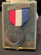 Bill Specht Swimming Medal Nyac Usa Swimming Masters World Record Holder 1970's