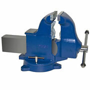 6 Heavy Duty Combination Pipe And Bench Vise - Swivel Base