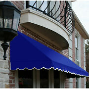 Awntech Window/entry Awning 10-3/8and039w X 4-11/16and039h X 4and039d Bright Blue