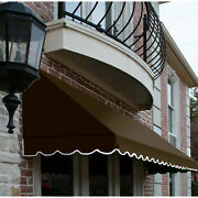 Awntech Window/entry Awning 10-3/8and039w X 4-11/16and039h X 4and039d Brown