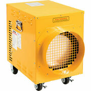 10.2 Kw Portable Electric Heater, 240v, Single Phase, Yellow