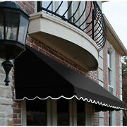 Awntech Window/entry Awning 10-3/8and039w X 4-11/16and039h X 4and039d Black