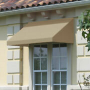 Awntech Window/entry Awning 10-3/8and039w X 2and039h X 4and039d Linen